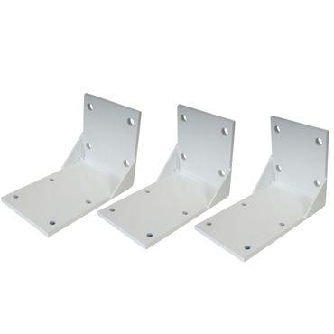3x Deckenadapter für Kassetten-Markise, Deckenmontage Halterung Adapter – Bild 1