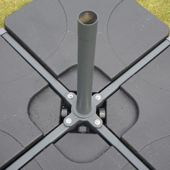 Bodenplatten Sonnenschirm 500cm