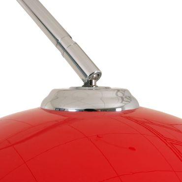 Reality|Trio Bogenlampe Lounge Deal, Höhe: 2,06m, Schirm: 40cm rot – Bild 5