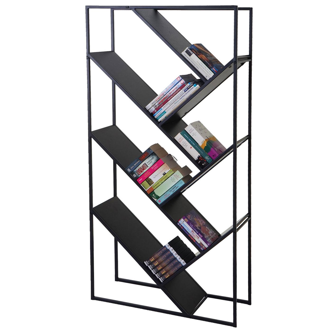 b cherregal standregal wohnregal 160x80cm 4 ebenen. Black Bedroom Furniture Sets. Home Design Ideas