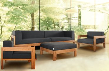 Divano Lounge Lavi Teak Collection – Bild 2