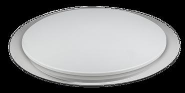 Deckenlampe OPTIMA Metall weiss, Kunststoff, dimmbar, Fernbedienung – Bild 9