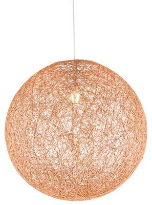 Hängelampe COROPUNA, Kunststoff goldfarben, Textil, Globo 15253T – Bild 4