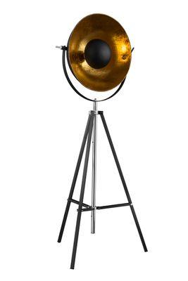 Stehlampe XIRENA, Chrom schwarz, Metall schwarz, Globo 58286 – Bild 2