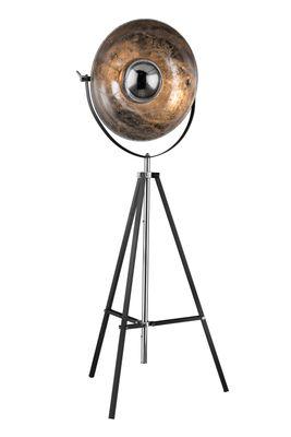 Stehlampe XIRENA, Metall grau, Metall Blattsilber, Globo 58287 – Bild 2