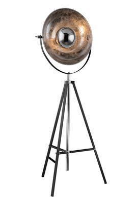 Stehlampe XIRENA, Metall grau, Metall Blattsilber, Globo 58287 – Bild 3