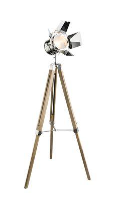 Stehlampe EVY, Holz, Globo 58289 – Bild 1
