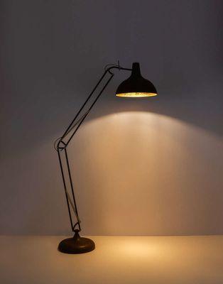 Stehlampe CONNY, Metall rostfarben, Metall goldfarben, Globo 58322 – Bild 4
