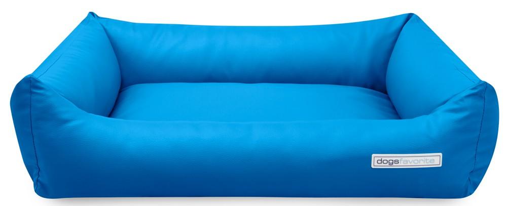 Hundebett dogsfavorite blau