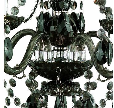 Reality | Trio Acryl Kronleuchter Lüster, 5-flammig, schwarz – Bild 4