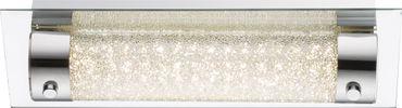Wandlampe NIMROD Chrom, Glas klar, K5 Kristalle klar, Schalter
