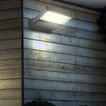 Aussenbeleuchtung CHANA, Aluminium Druckguss grau, Glas klar, Globo 34125 – Bild 2
