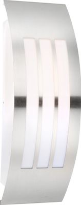 Aussenbeleuchtung CORNUS, Edelstahl, Kunststoff opal, Globo 32094 – Bild 1