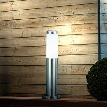Aussenbeleuchtung BOSTON LED, Edelstahl, Kunststoff opal, Globo 3158LED – Bild 4