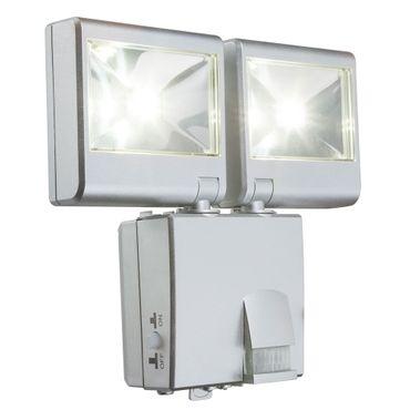 Aussenbeleuchtung SOLAR, Kunststoff silber metallic, Kunststoff klar, Globo 3724SN – Bild 1