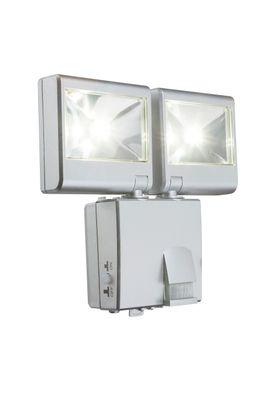 Aussenbeleuchtung SOLAR, Kunststoff silber metallic, Kunststoff klar, Globo 3724S