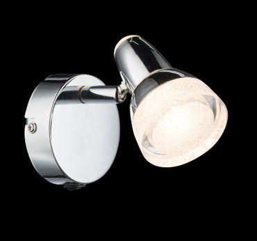 LED Strahler Chrom, 1xLED – Bild 2