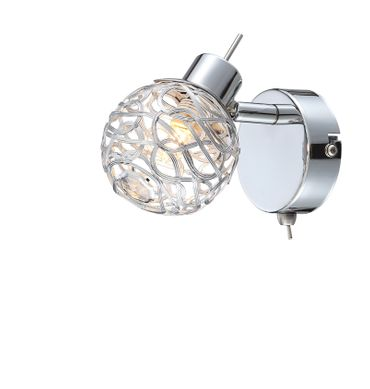 LED Strahler BOLT chrom, 1xG9 LED