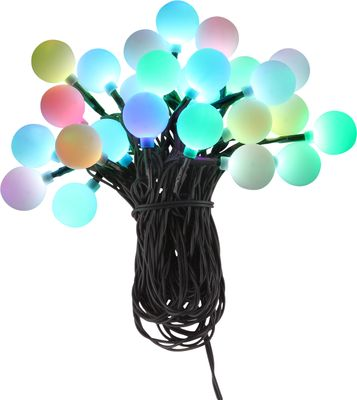 LED Lichterkette NIRVANA Kunststoff schwarz, 25xLED – Bild 6