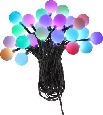 LED Lichterkette NIRVANA Kunststoff schwarz, 25xLED