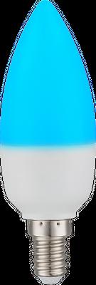 LED RGB E14 Leuchtmittel, Aluminium, Kunststoff opal, Globo 106754 – Bild 3