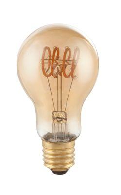 LED Leuchtmittel messing, E27 4W, 200lm, 2000K