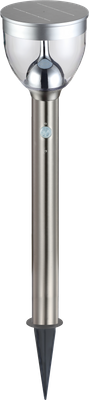 Solarlampe, 20XLED, Edelstahl, Kunststoff klar, Globo 33436 – Bild 1