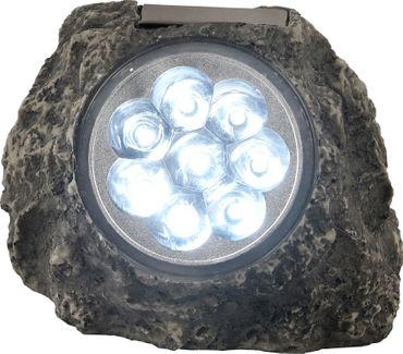 Solarlampe, Kunststoff grau, Kunststoff klar, Globo 33920 – Bild 1