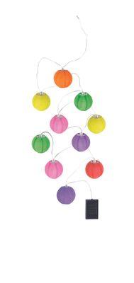 Solarlampe Kunststoff multicolor, LED – Bild 1
