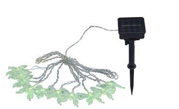 Solarlampe Kunststoff schwarz, RGB LED – Bild 9