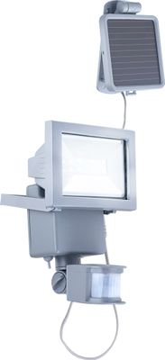 Solarlampe, Aluminium Druckguss, Kunststoff klar, Globo 3716S – Bild 1