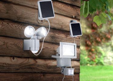 Solarlampe Aluminium Druckguss, LED – Bild 2
