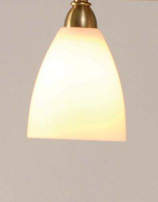 Stehlampe 1-flg. ALICE, Glas weiss opal  – Bild 2