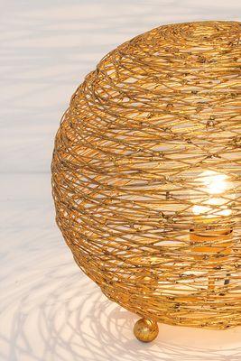 Tischlampe 1-flg. CAMPANO PICCOLO silberfarben Holländer 300 K 12255 S – Bild 3