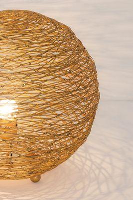 Tischlampe 1-flg. CAMPANO MEDIUM silber Holländer 300 K 12256 S – Bild 3