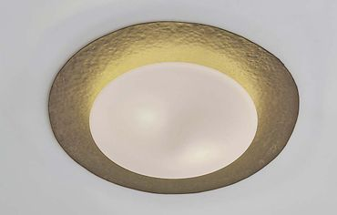 Deckenlampe 2-flg. PUGLIA silberfarben
