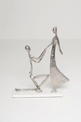 Figur PROPOSTA, Aluminium silber