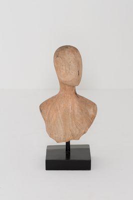 Figur LA TESTA, Mangoholz natur
