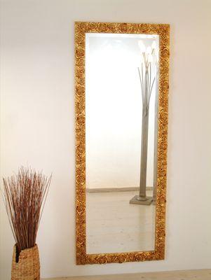 Spiegel CLASSICO ROSE GARDEN GRANDE, Rahmen Holz blattvergoldet Holländer 452 2944 G