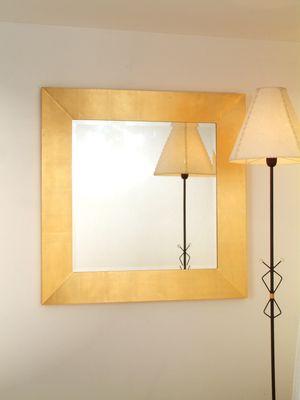 Spiegel CLASSICO, Rahmen Holz MDF blattvergoldet