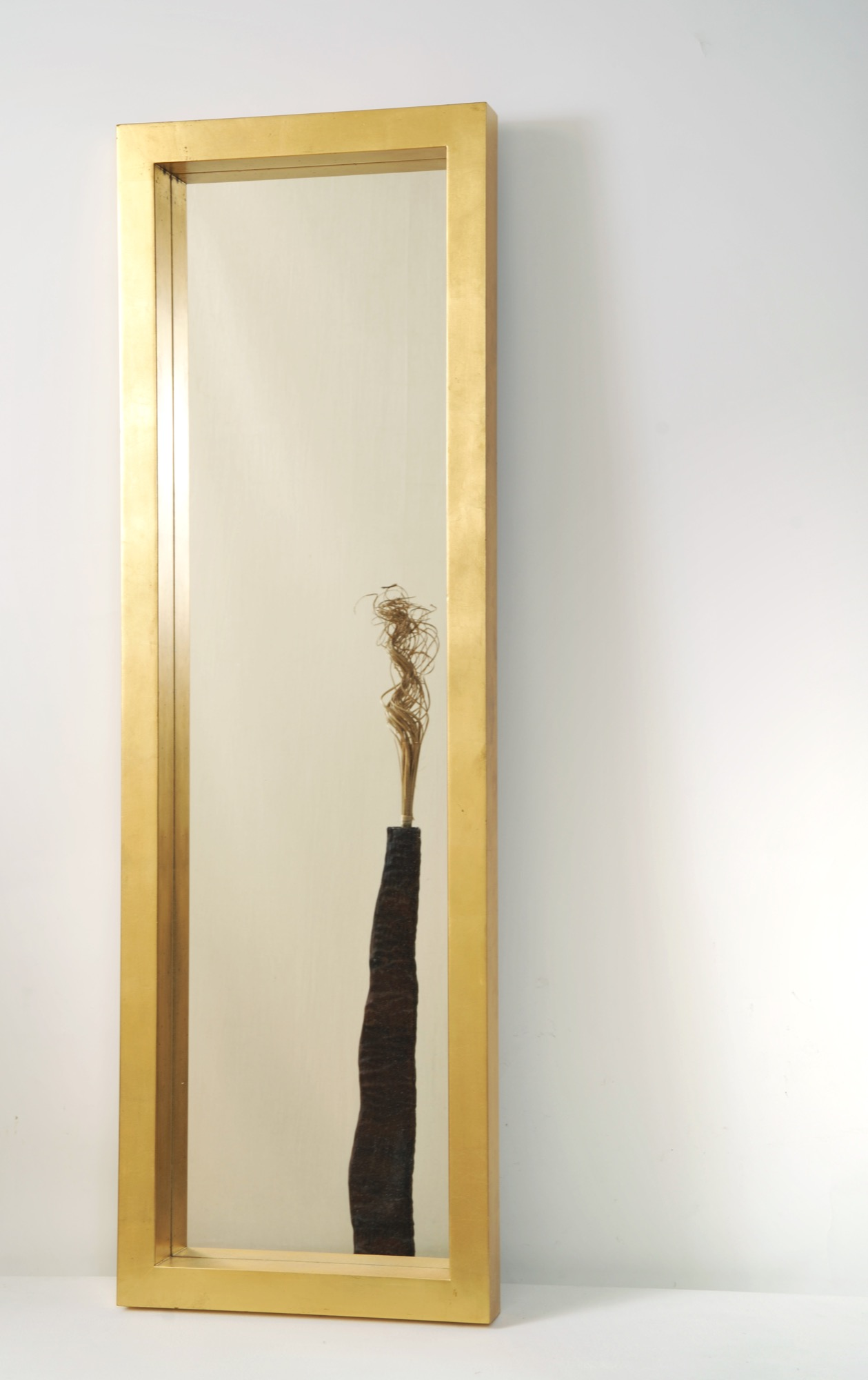 Spiegel CLASSICO AMERIKA GRANDE, Rahmen Holz MDF blattvergoldet Haus ...