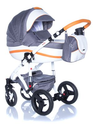 Kinderwagen Adamex Vicco 3in1, viele Farben – Bild 1