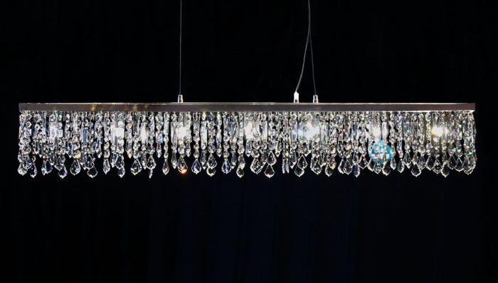 Pendellampe 117cm gefertigt mit SPECTRA® Crystal von SWAROVSKI
