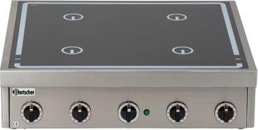 Ceranherd 4 Felder ø210mm 2.3 kW