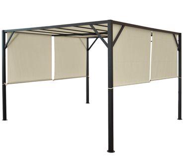 Pergola Garten Pavillon Terrassenüberdachung, 4x3m – Bild 5
