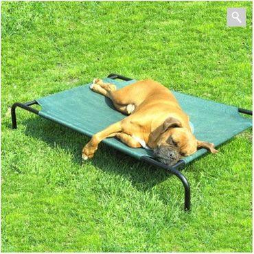 XL Hundebett Hundeliege mittlere Hunde 90x65x20cm 2 Farben – Bild 1
