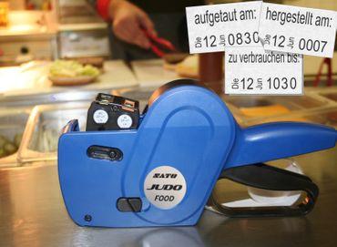 Etikettiergerät Handauszeichner JUDO Food  – Bild 3