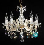 5 Arm Kronleuchter mit SPECTRA® Crystal von SWAROVSKI 001