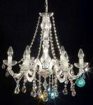 6 Arm Kronleuchter mit SPECTRA® Crystal von SWAROVSKI 001