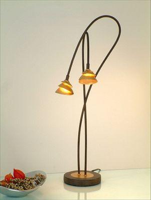 Tischlampe 2-flg. SNAIL TWO Holländer 300 K 12120